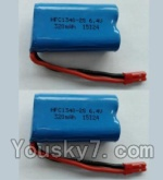 Wltoys L353 Spare Parts-15-02 6.4V Battery,6.4V Lithium-iron battery(2pcs)