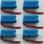 Wltoys L353 Spare Parts-15-03 6.4V Battery,6.4V Lithium-iron battery(6pcs)