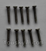 Wltoys L353 Spare Parts-19 Round head self-tapping screws(10pcs)-M2×12