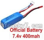 Wltoys P929 P939 Parts-02 Official WLtoys 7.4V 400mAh