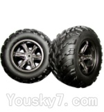 Hosim S911 Parts-ZJ01 The Left and Right Wheel(Total 2pcs)