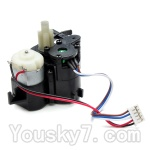 JYRC XinleHong Toys 9115 RC Car Parts-26 ZJ04 The Front Steering Servo