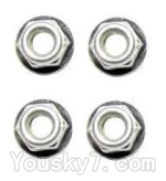 XinleHong Toys S911 Parts-WJ02 Anti-loose Screw nut(4pcs)