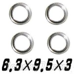 XinleHong Toys S911 Parts-WJ09 Bearing-6.3x9.5x3mm-4pcs
