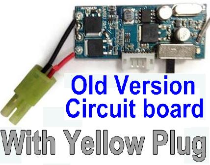 JYRC XinleHong Toys 9115 RC Car Parts-62 DJ04 Old version Circuit board,Receiver board with Yellow Plug