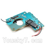Hosim S911 Parts-DJ05 The Transmitter Board