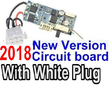 XinleHong Toys 9116 RC Car Parts-70-04 2018 New version Circuit board with White plug