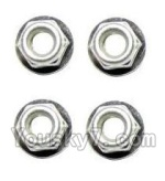 XinleHong Toys 9123 Parts-31-02 WJ02 Anti-loose Screw nut(4pcs)
