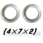 XinleHong Toys 9120 Parts-37 WJ08 Bearing-4x7x2mm-2pcs