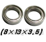 XinleHong Toys 9123 Parts-39 WJ10 Bearing- 8x13x3.5mm-2pcs