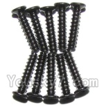 XinleHong Toys 9123 Parts-43 LS02 Countersunk head screws(M2x10)-10PCS