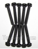 XinleHong Toys 9123 Parts-52 LS11 Round head screws(M2.6x15)-10PCS