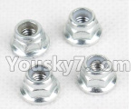 Hosim 9130 Parts-WJ08 Anti loose nut(4pcs)
