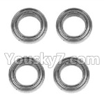 Hosim 9130 Parts-WJ09 Bearing(4pcs)-6.3×9.5×3mm