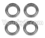 Hosim 9130 Parts-WJ10 Bearing(4pcs)-8×13×3.5mm