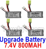 Hosim 9130 Parts-Upgrade 7.4V 800MAH Battery(4pcs)