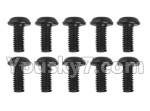 Hosim 9130 Parts-LS14 Pan head Cross recessed screws(10PCS)-2.5×6×5PWMHO