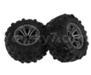 Hosim 9136 Parts-Whole wheel unit(2pcs)-ZJ02
