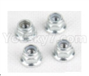 Hosim 9136 Parts-Anti loose nut(4pcs)-WJ08