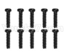 Hosim 9136 Parts-LS09 Round head screw(10pcs)-2.6x7PBHO