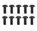 Hosim 9136 Parts-LS14 Round head screw(10pcs)-2.5x6x5PWMHO