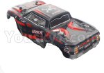 XinLeHong Toys 9145 Parts-Body shell cover-Red 45-SJ01-Red