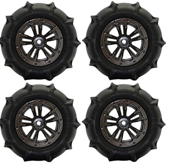 Hosim Q901 Parts-Anti-sand RC Wheel Tires-85mm-4 set-QZJ02