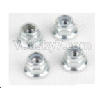 Hosim Q901 Parts-Anti loose nut(4pcs)-WJ08