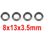 Hosim Q901 Parts-Bearing(4pcs)-8X13X3.5mm-WJ10