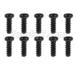 Hosim Q901 Parts-LS01 Round head screw(10pcs)-2X7PBHO