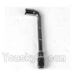 JYRC XinleHong Toys 9116 Parts-41 WJ12 Hex Screw nut wrench