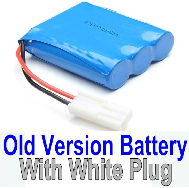 JYRC XinleHong Toys 9116 Parts-60-01 Old version 9.6V 800MAH Battery with White Plug