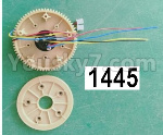 Wl-Model Wltoys 16800 Parts Rotating gear assembly. 1445