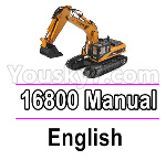 Wl-Model Wltoys 16800 Parts Manual Instruction. The languate is in English.