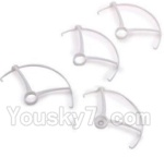 CG032 Parts-06 Outer protect frame(4pcs)