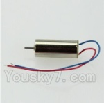 CG032 Parts-11 rotating Motor with red and blue wire(1pcs-CW)