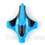 JJRC H36 Spare Parts-01 Upper shell cover,Upper canopy-Blue