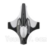 JJRC H36 Spare Parts-02 Upper shell cover,Upper canopy-Gray