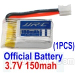 JJRC H36 Spare Parts-11 Official 3.7v 150mah Battery(1pcs)