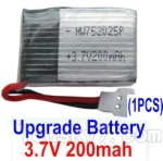 JJRC H36 Spare Parts-12 Upgrade 3.7v 200mah Battery(1pcs)