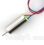 JJRC H36 Spare Parts-29 clockwise rotating Motor with Red and Blue wire(1pcs)