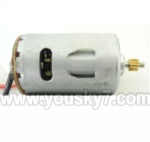 6508-Parts-23 Main motor with shaft and gear(1pcs)