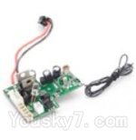 BR6801-parts-18 Circuit board,Receiver board