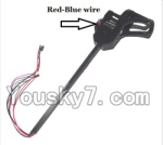 BoRong BR6803-parts-15 Whole Leg unit set B (Red and Blue wire)