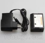 BR6804 Quadcopter Parts-32 Upgrade Charger and Balance charger(Can more protect the Battery)