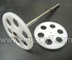 BR6808-parts-11 Upper main gear with hollow pipe  & Lower main gear