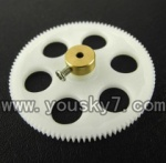 CX-Model-007-helicopter-13 Lower main gear with copper sleeve