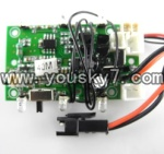 CX-Model-007-helicopter-15 Circuit board,Receiver board-40MHZ