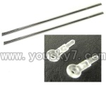 CX-Model-007-helicopter-36 Support pipe(2pcs) & Head fixture for the support pipe(2pcs)