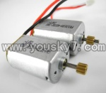 CX-009-parts-11 Main motor with long shaft and gear & Main motor with short shaft and gear